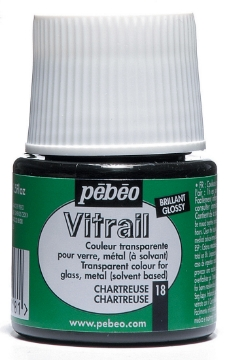Picture of Pebeo Vitrail 45ML CHARTREUSE (Green) (18)