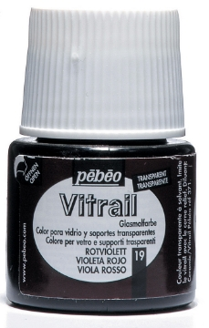 Picture of Pebeo Vitrail 45ML RED VIOLET (19)