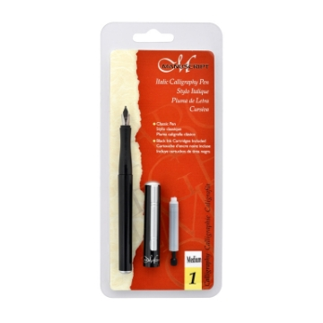 Picture of Manuscript Italic Calligraphy Pen (Medium nib)