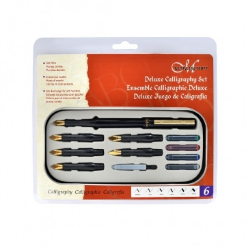 Picture of Manuscript Deluxe Calligraphy 6 Nib set