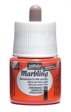 Picture of Pebeo Marbling Colour 45ml Vermilion (02)