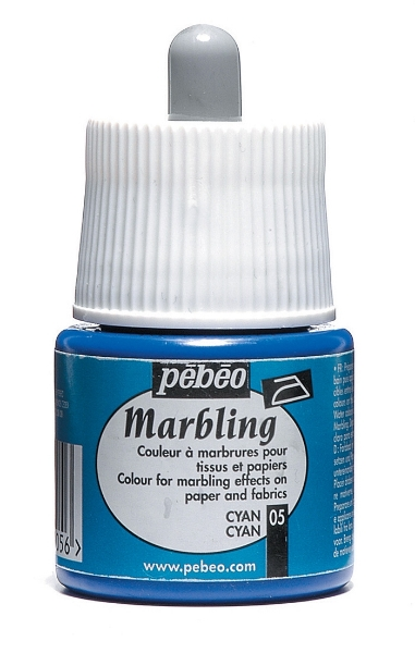 Picture of Pebeo Marbling Colour 45ml Cyan (05)