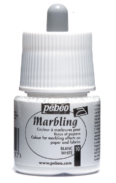 Picture of Pebeo Marbling Colour 45ml White (10)