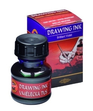 Picture of Kohinoor Artist's Drawing Ink - 20g - Brilliant Violet