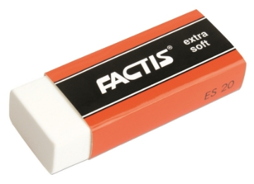 Picture of Factis Extra Soft Eraser for Pencil & Charcoal ES 20