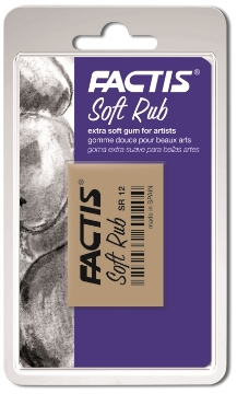 Picture of Factis Blister 1 eraser SOFT RUB for fine arts