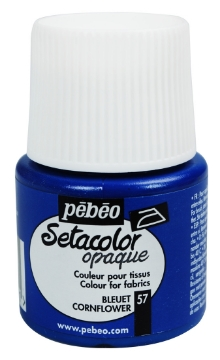 Picture of PEBEO SETACOLOUR OPAQUE 45ML CORN FLOWER (057)