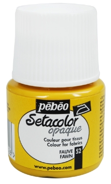 Picture of PEBEO SETACOLOUR OPAQUE 45ML FAWN( 052)