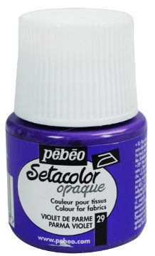 Picture of PEBEO SETACOLOUR OPAQUE 45ML PARMA VIOLET (029)
