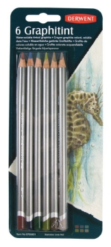 Picture of Derwent Graphitint Pencils Blister Pack of 6