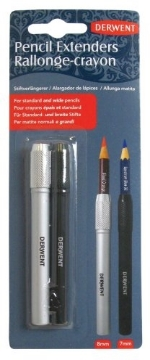 Picture of Derwent Pencil Extenders (pack of 2)