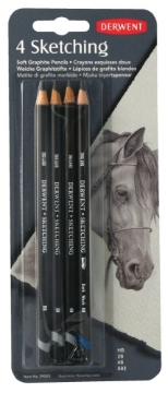 Picture of Derwent Sketching Pencils Blister of 4
