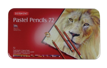Picture of Derwent Pastel Pencils set of 72 Tin