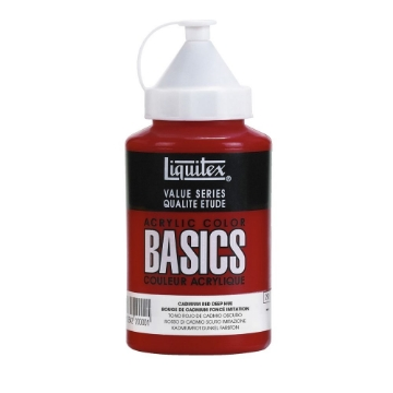 Picture of Liquitex Basics Acrylic Cadmium Red Deep Hue 400ml (311)