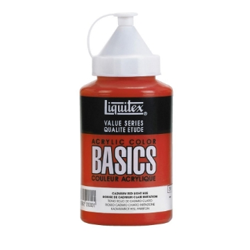 Picture of Liquitex Basics Acrylic Cadmium Red Light Hue 400ml (510)