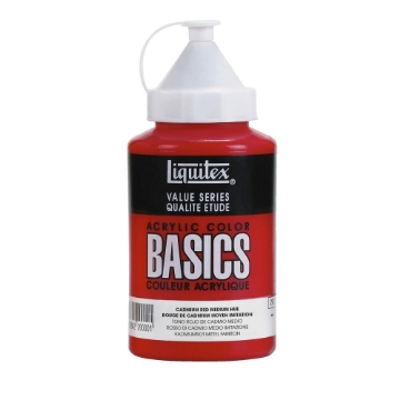 Picture of Liquitex Basics Acrylic Cadmium Red Medium Hue 400ml (151)