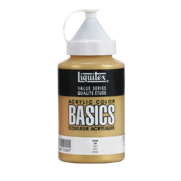 Picture of Liquitex Basics Acrylic Gold 400ml (051)