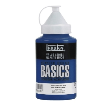 Picture of Liquitex Basics Acrylic Phthalo Blue 400ml (316)