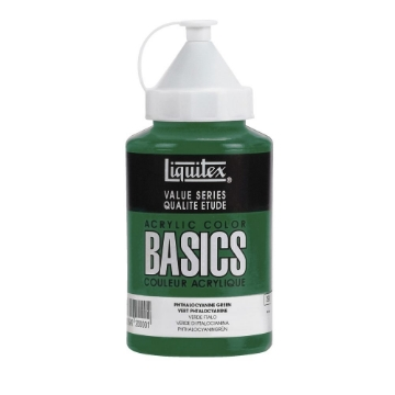 Picture of Liquitex Basics Acrylic Phthalo Green 400ml (317)