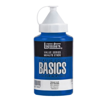 Picture of Liquitex Basics Acrylic Primary Blue 400ml (420)