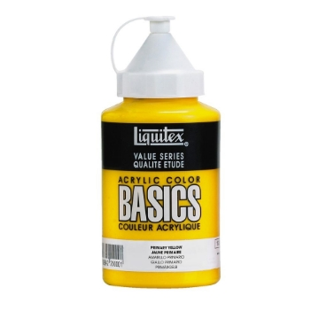 Picture of Liquitex Basics Acrylic Primary Yellow 400ml (410)