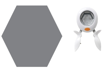 Picture of 5909 Fiskars Squeeze Punch XL Hexagon