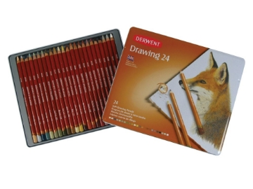 Picture of Derwent Drawing Pencils Set of 24
