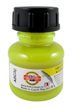 Picture of Kohinoor Artist Drawing Ink - 20g -  Fluorescent Yellow