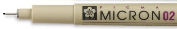 Picture of Sakura Pigma Micron Pen 0.2 (Black)
