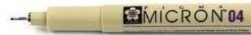 Picture of Sakura Pigma Micron Pen 0.4 (Black)