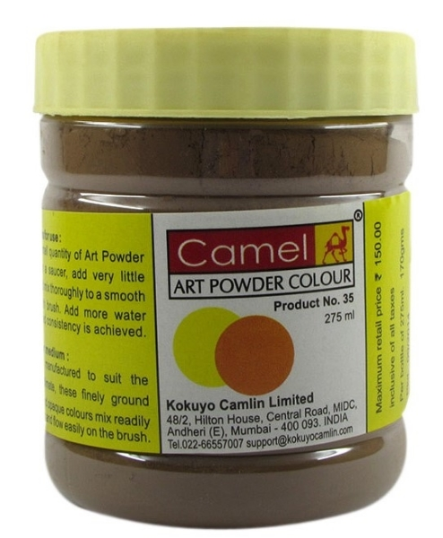 Picture of Camel Powder Colour 275ml Vandyke Brown (446)