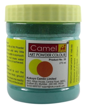 Picture of Camel Powder Colour 275ml Viridian Hue (453)