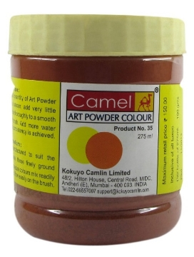 Picture of Camel Powder Colour-275ml Burnt Sienna (031)