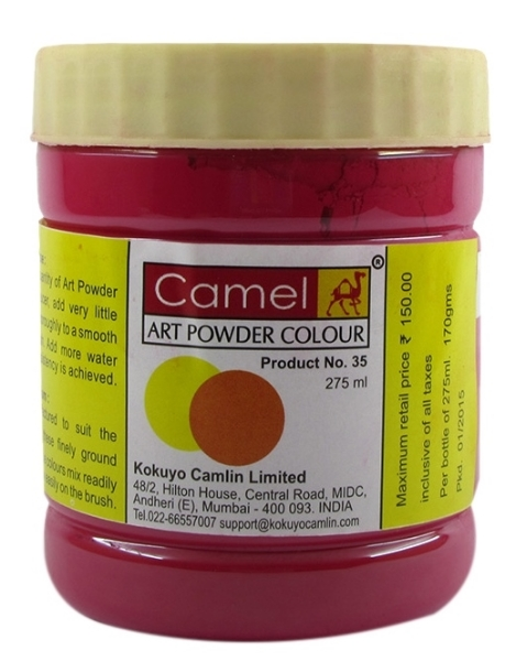 Picture of Camel Powder Colour-275ml Crimson (062)
