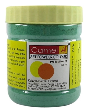 Picture of Camel Powder Colour-275ml Emerald Green (117)