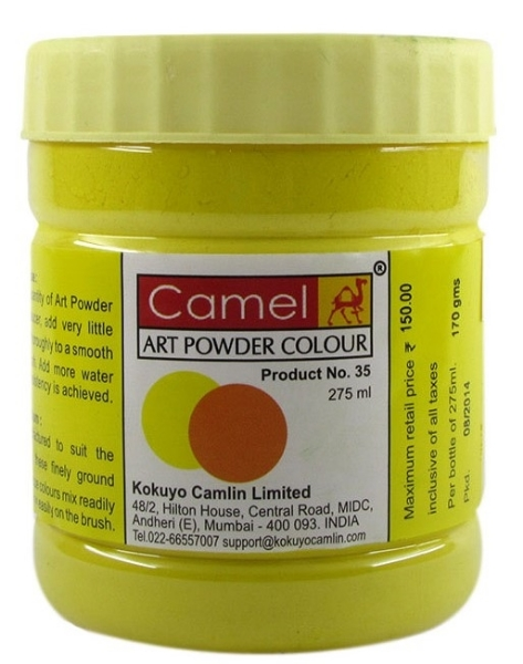 Picture of Camel Powder Colour-275ml Gamboge Hue (153)