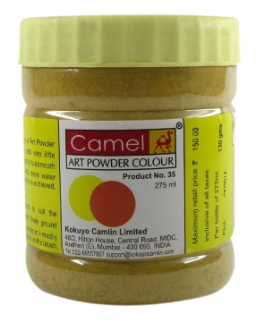 Picture of Camel Powder Colour-275ml Raw Umber (367)
