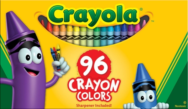 Picture of Crayola Crayons 96 Colours