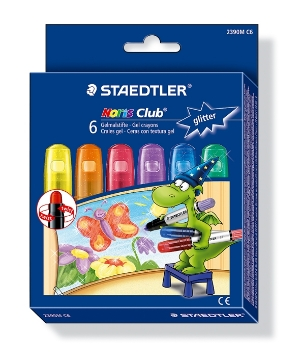 Picture of STAEDTLER Noris Club Gel Crayons Pack of 6 - Glitter Colors
