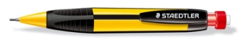 Picture of STAEDTLER Noris Mechanical Pencil 1.3mm + HB Lead (Black & Yellow Body)