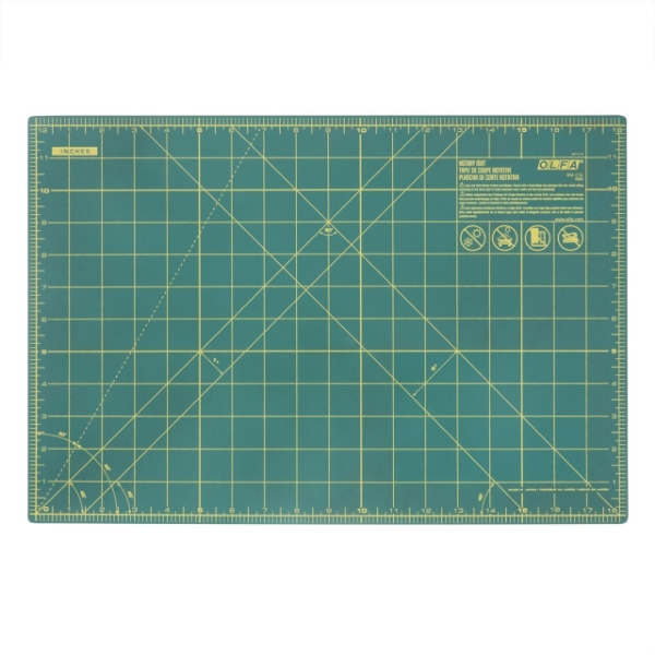 """Picture of OLFA A4 Rotary Cutting Mat (12""""x18"""")  (CM-A4)"""