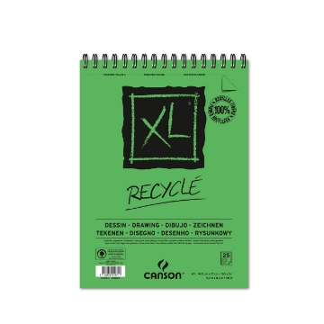 Picture of Canson XL Recycled Pad 160gsm A5 (25 Sheets)