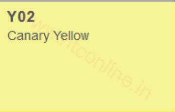 Picture of Copic Marker Canary Yellow (Y02)