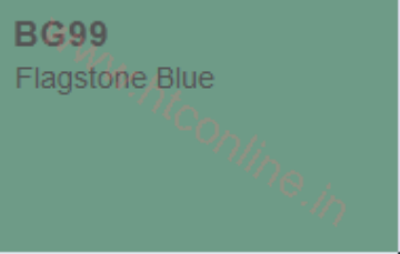 Picture of Copic Marker Flagstone Blue (BG99)