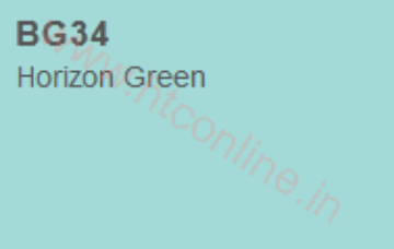 Picture of Copic Marker Horizon Green (BG34)