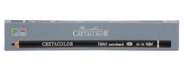 Picture of Cretacolor Artists Nero Pencils Extra Hard