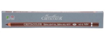 Picture of Cretacolor Artists Sepia Oil Pencil Light