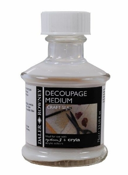 Picture of Daler Rowney Decoupage Medium (Craft Seal) 75ML
