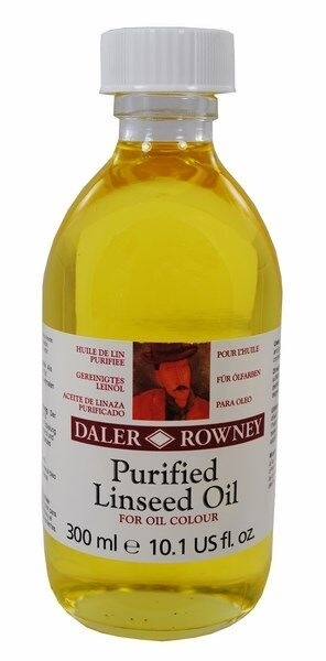 Picture of Daler Rowney Purified Linseed Oil 300ML