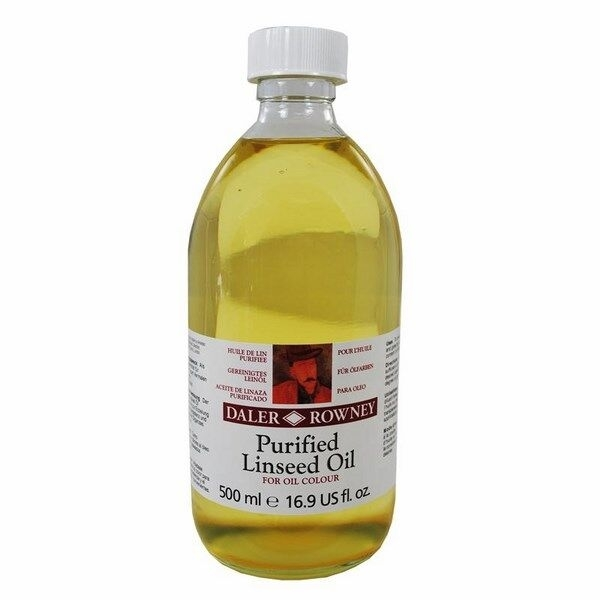 Picture of Daler Rowney Purified Linseed Oil 500ML